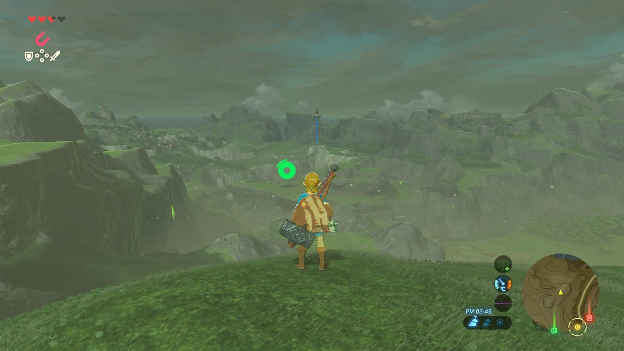 塔が見える