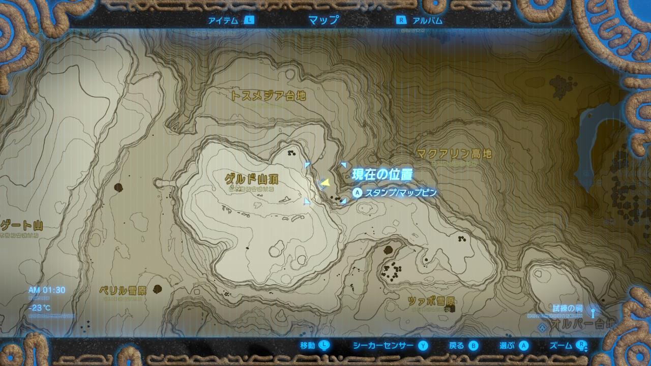 キハ・ウの祠map