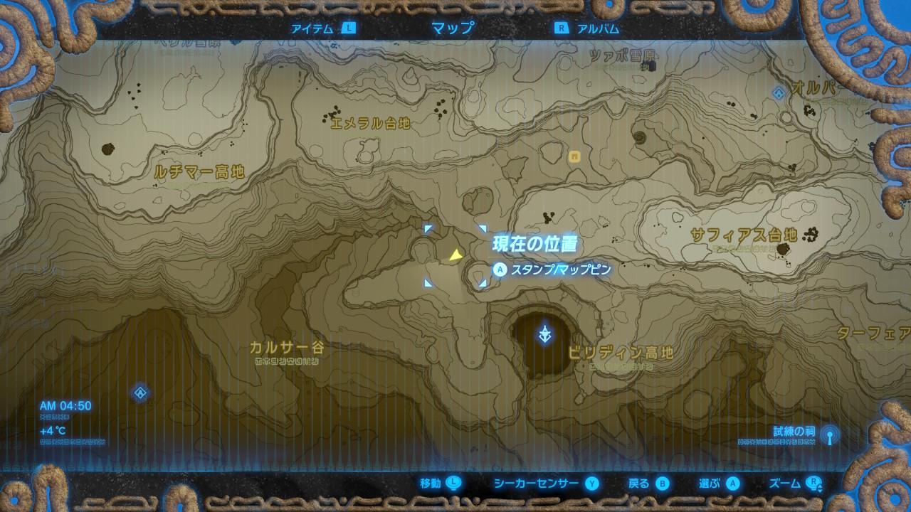 シ・ジトの祠map